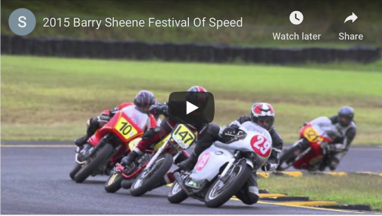 2015 Barry Sheene Festival Of Speed