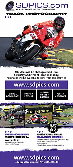 Sydney Motorsport Park Ride Days & California Superbike School - Sydney Photography